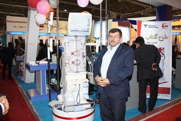 رونمایی از دستگاه دیالیز 5008 در 19 دهمین نمایشگاه بین المللی تجهیزات پزشکی ایران  هلث