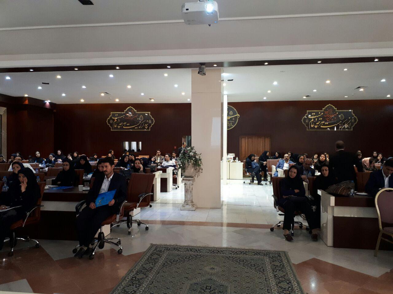 برگزاری سمینار آموزش پرستاری دستگاه های دیالیز  4008s Classic فرزنیوس در مشهد 12