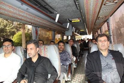 گزارش تصویری بدرقه کاروان کارکنان شرکت تجهیزات پزشکی هلال ایران به کربلای معلی