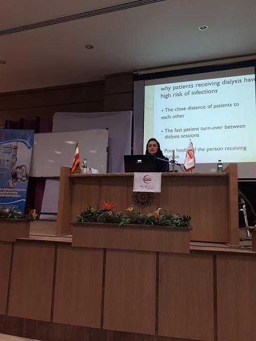 برگزاری سمینار آموزش پرستاری دستگاه های دیالیز 4008S Classic فرزنیوس درشهرکرد  3