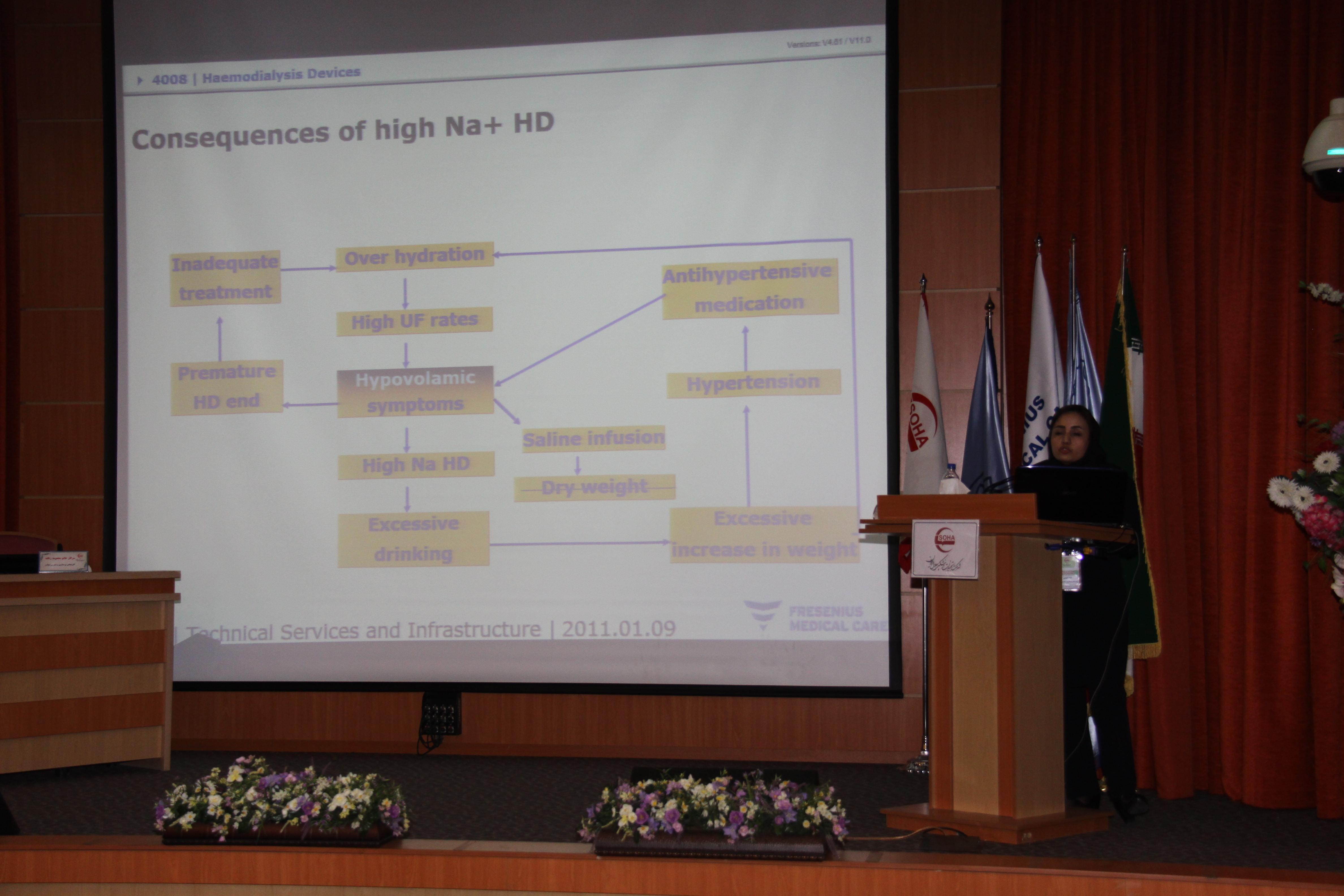 آموزش پرستاری دستگاه های دیالیز فرزنیوس 4008s classic و مباحث بالینی دیالیز 16