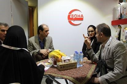 حضور شرکت تجهیزات پزشکی هلال ایران در سمینار نفرولوژی و اورولوژی کتابخانه ملی تهران 2