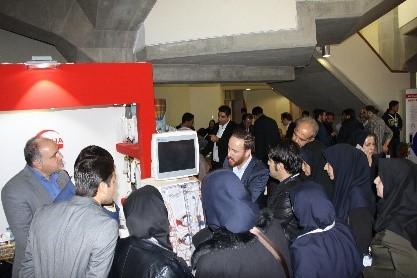 حضور شرکت تجهیزات پزشکی هلال ایران در سمینار نفرولوژی و اورولوژی کتابخانه ملی تهران 5