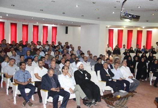 نشست صمیمانه مدیر عامل محترم جناب آقای دکتر غیبی با همکاران و مدیران محترم